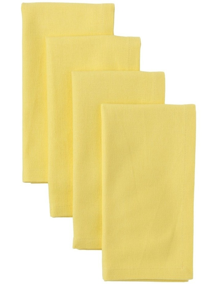 Yellow Manhattan Napkin - Set of 4 image 1