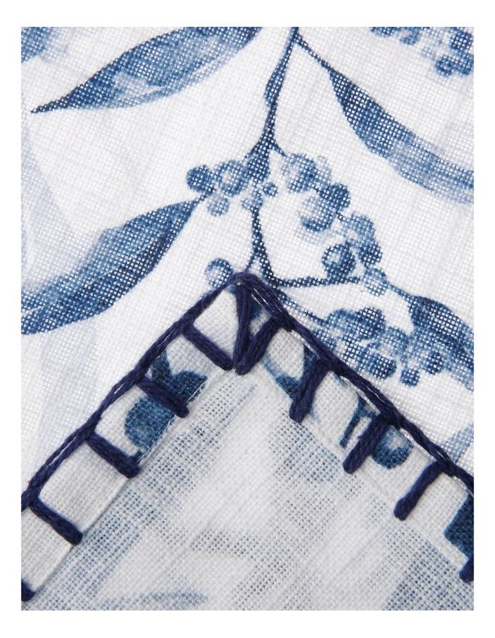4 Pack Wattle Napkin with Blanket Stitch Edge image 2