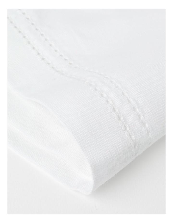 Elizabeth Hemstitch Napkin Set of 4 white image 2