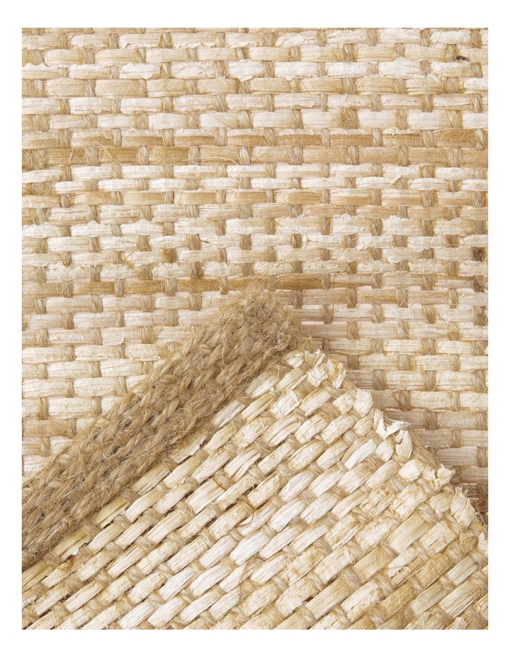 Handwoven Abaca Placemat 35 x 45cm Natural image 2