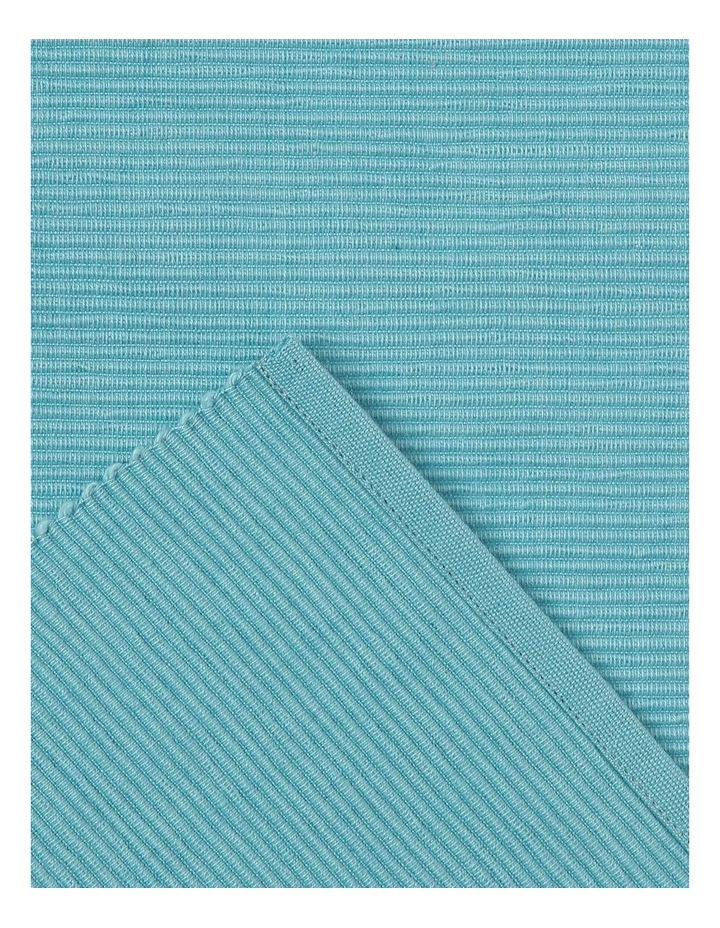 Madisson Ribbed placemat 30 x 45cm Milky Blue image 2