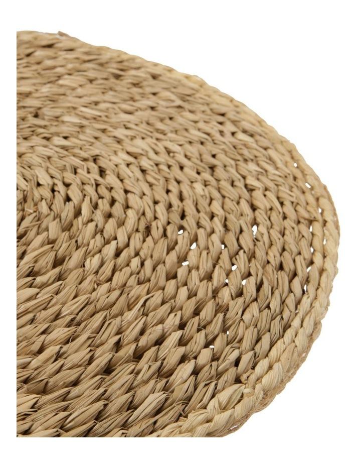 Rivoli White Rim Seagrass Placemat image 2