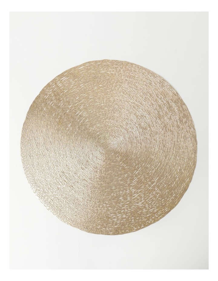 Abstract Placemat - Champagne image 1
