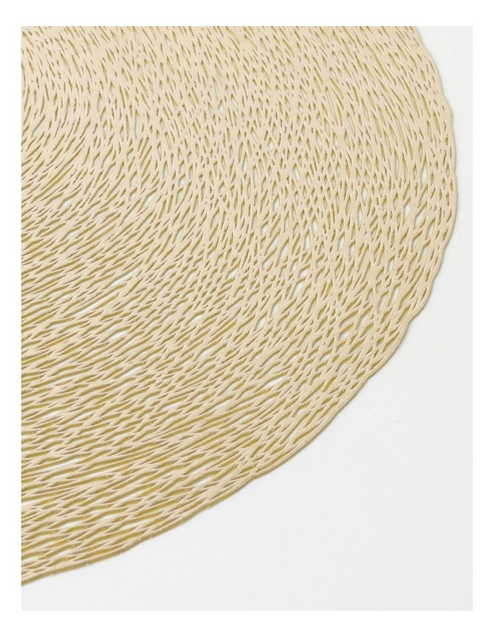 Abstract Placemat - Champagne image 2