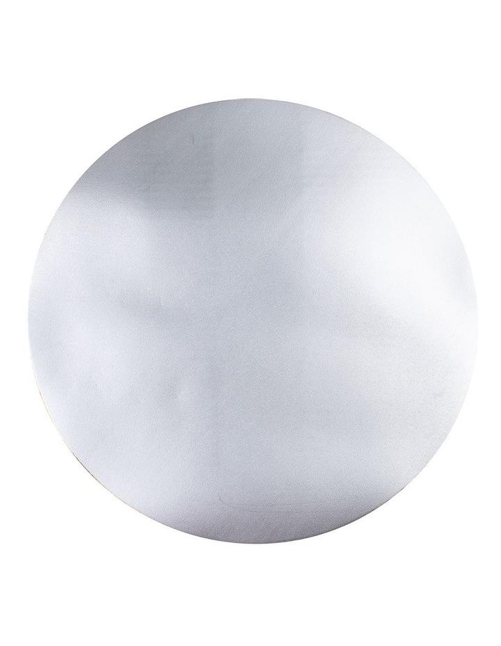 PVC Silver Circular Shine Placemat image 1
