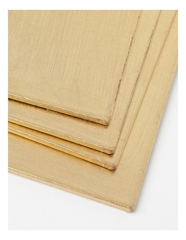Gold Placemats set of 4 image 2