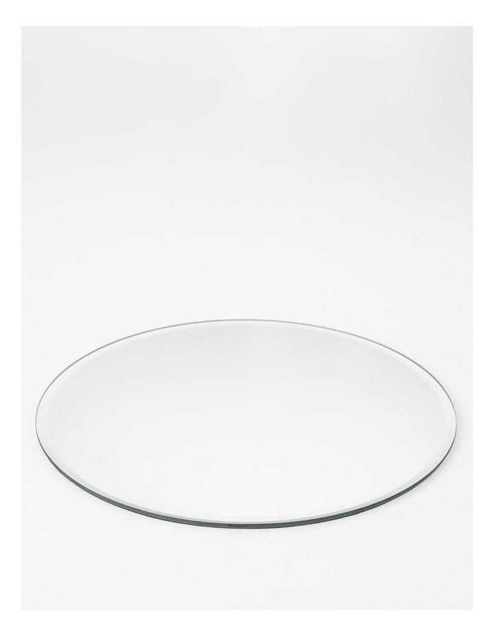 Mirrored Circular 32cm Placemat 1 image 1