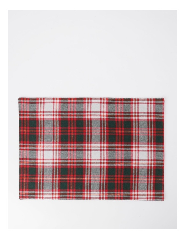 Heirloom Tartan Check Placemat pack 4 image 1