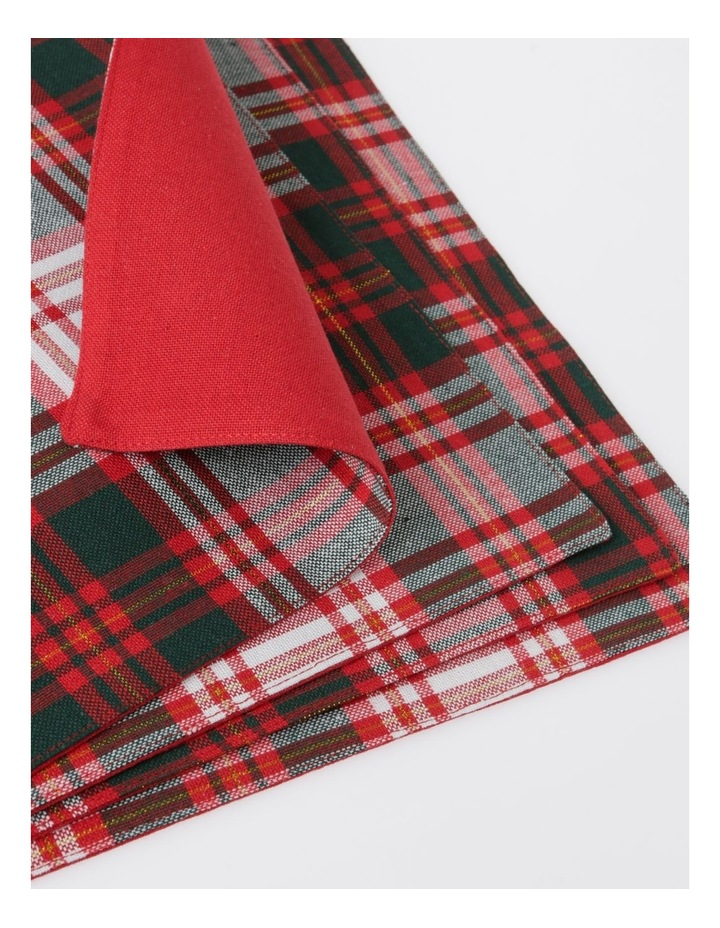 Heirloom Tartan Check Placemat pack 4 image 2