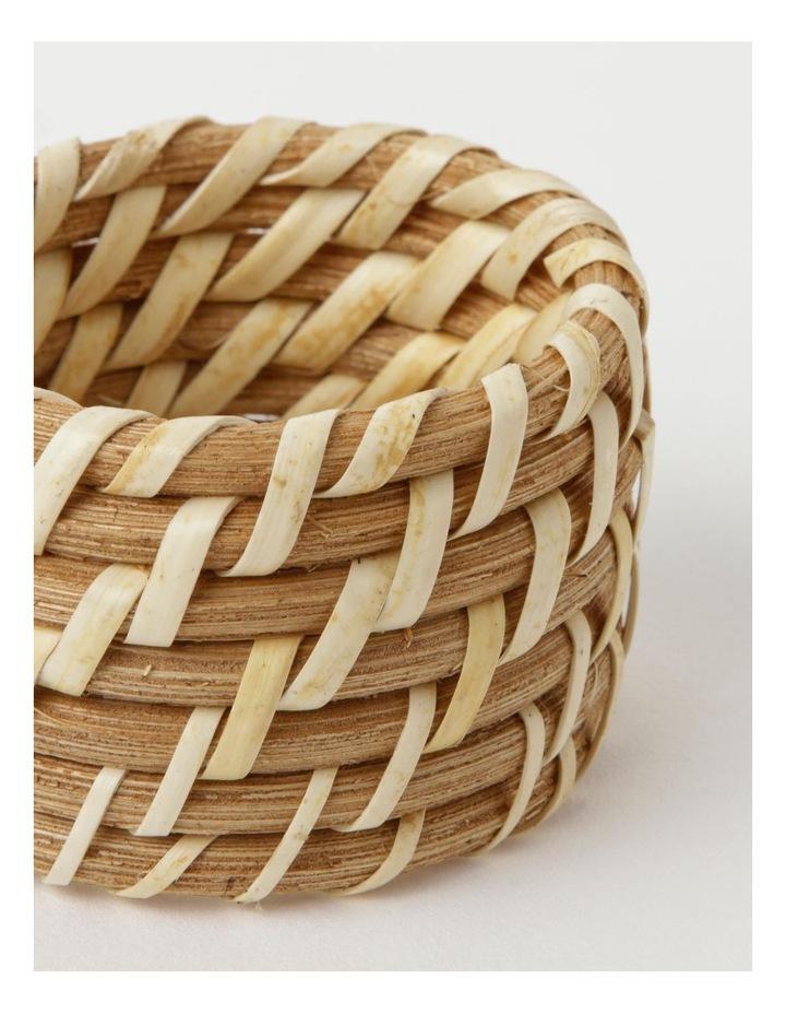 Rattan Napkin Rings image 3