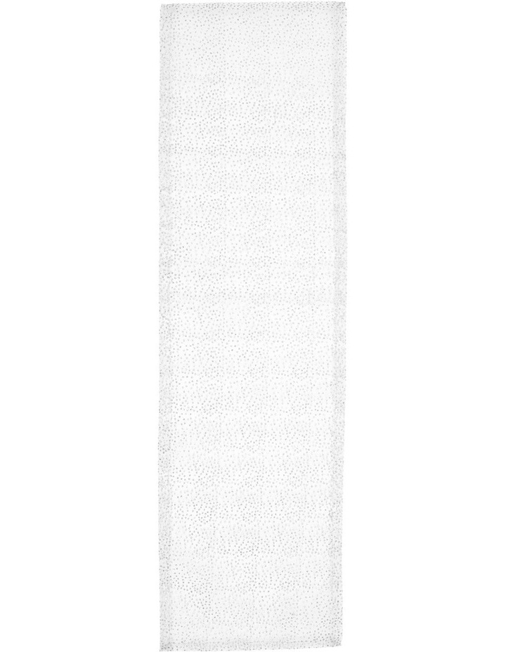 Dazzling Lights Silver Table Runner image 1