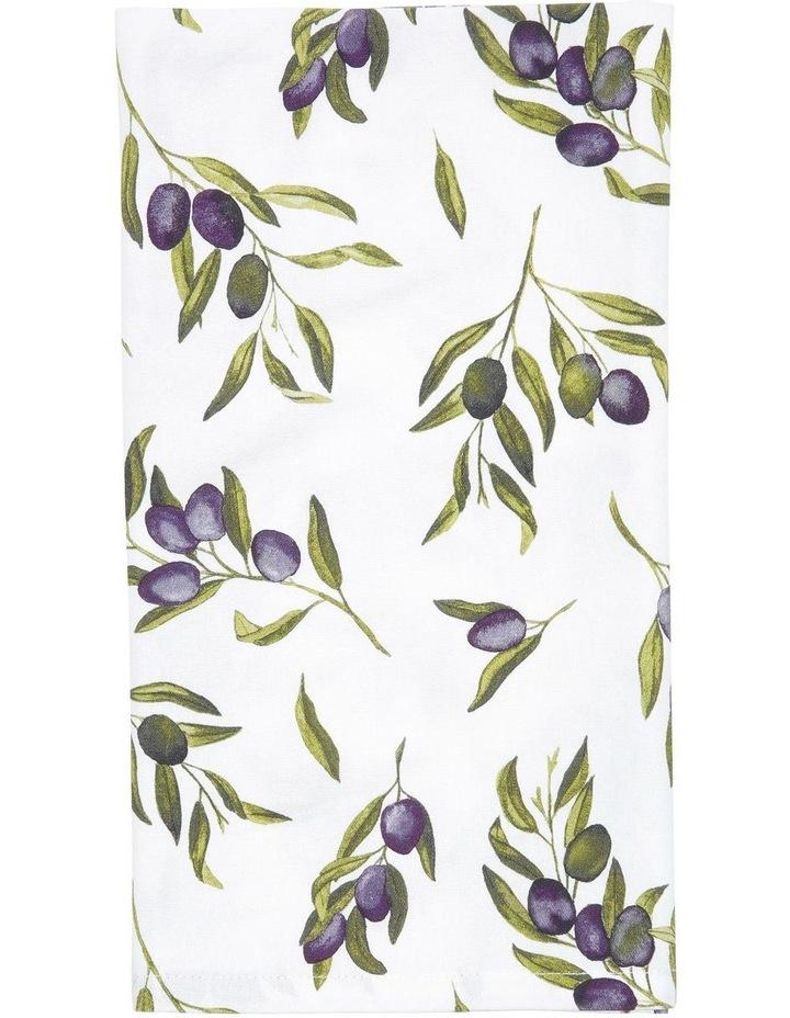 Olive Leaf Tea Towel 50x70cm image 1