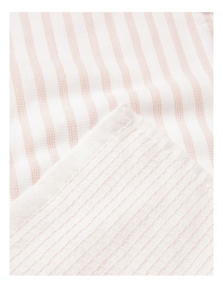 Pink 4 Pack Cotton Terry Back Tea Towel image 3