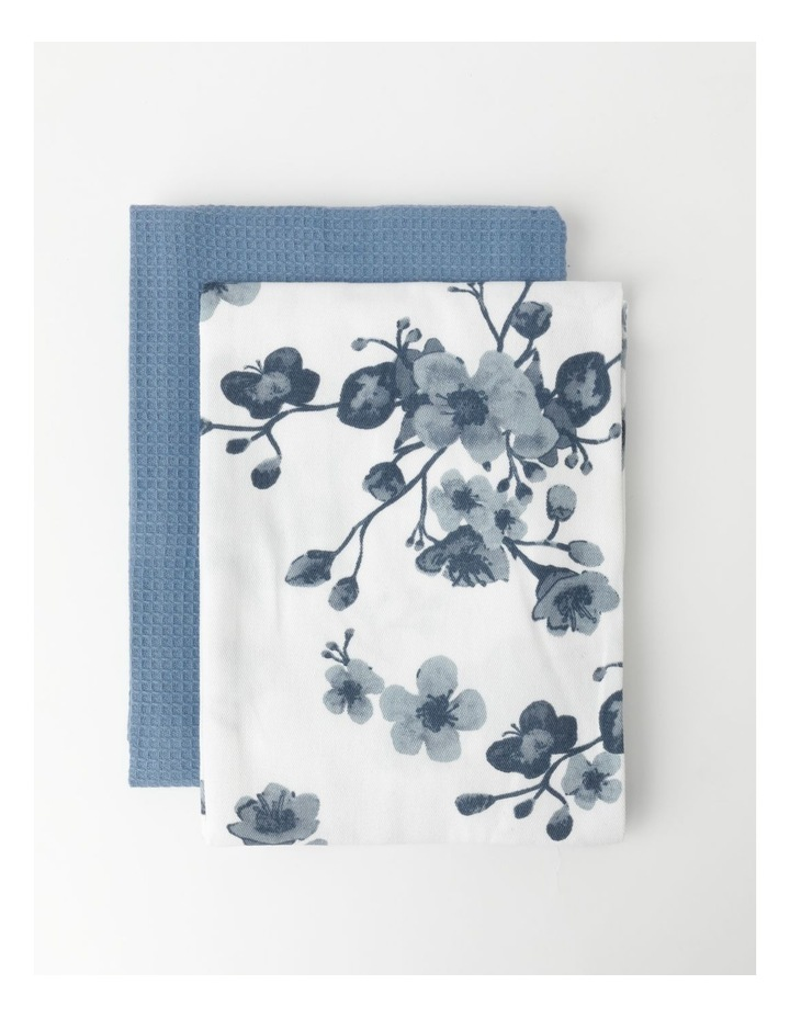 Cherry Blossom Tea Towel Pack 2 image 1