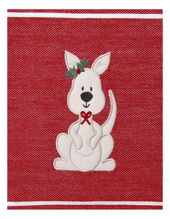 Cute Kanga Applique 2PK Tea Towels image 2