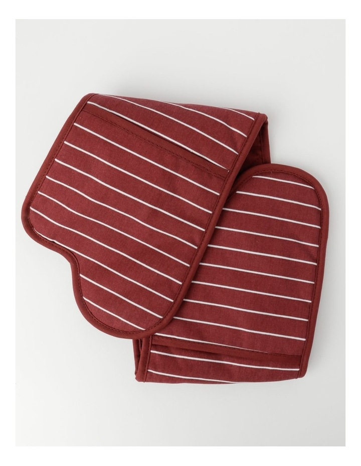 Chefs Oven Glove Red image 1