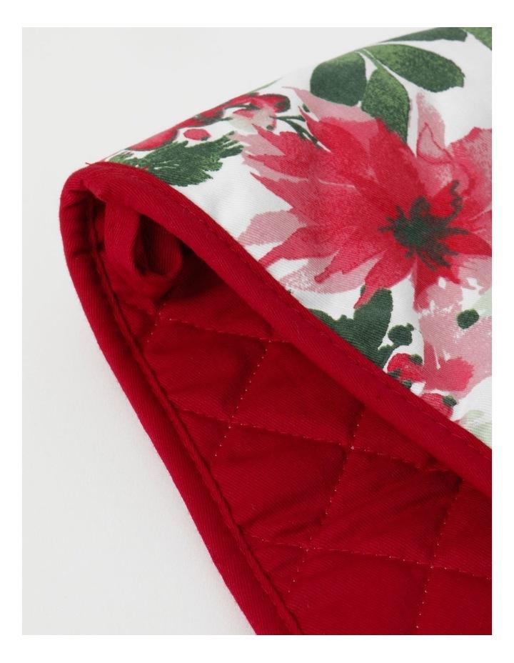 Christmas Floral Pot Holder image 3