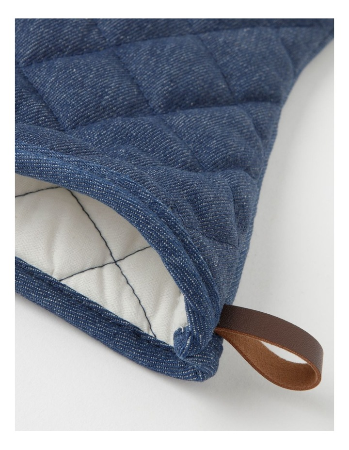 The Cooks Collective Executive Oven Mitt Denim Set Of 2 image 3