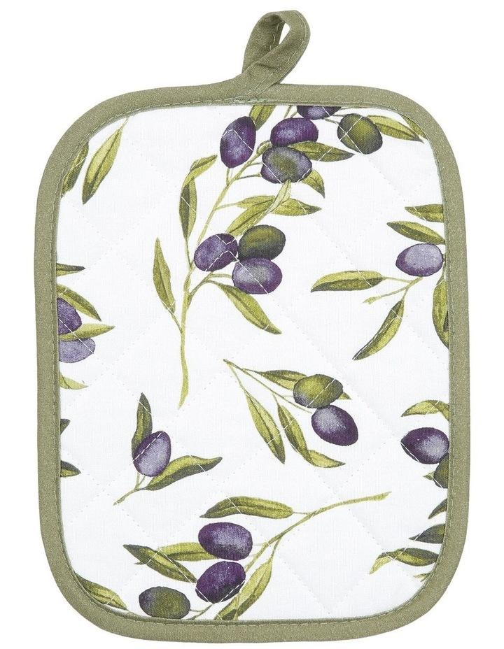 Olive Leaf Pot Holder 21x21cm image 1