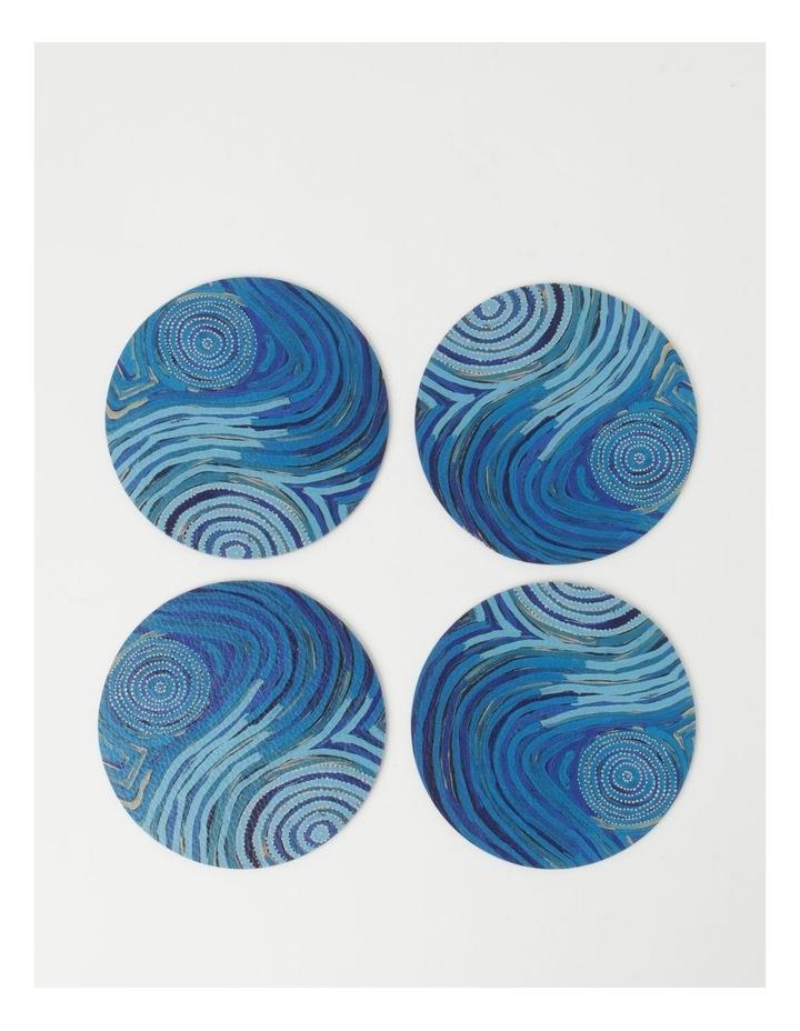 Pauline Napangardi Gallagher Set of 4 Mina Mina Dreaming Coasters image 2