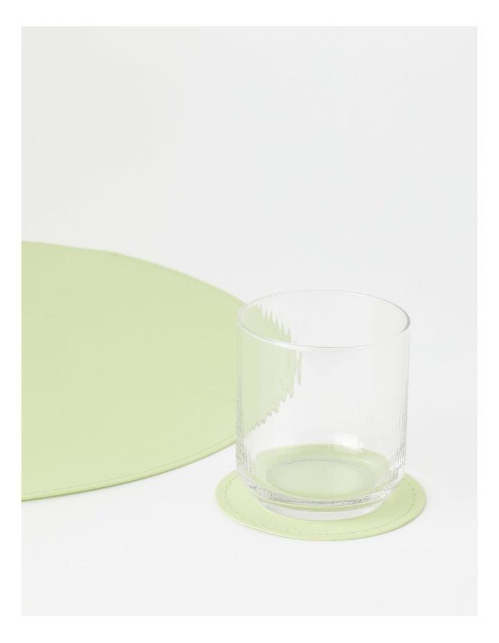 Washable Paper 4pk Coaster - Aloe image 3