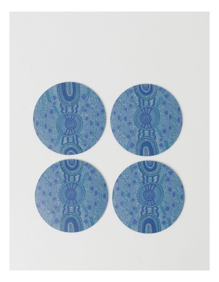 Blue Meeting Place Coasters Set Of 4 image 1