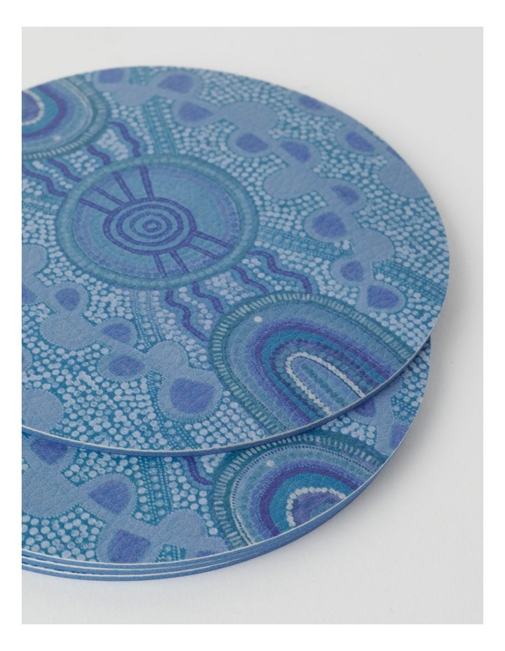 Blue Meeting Place Coasters Set Of 4 image 2