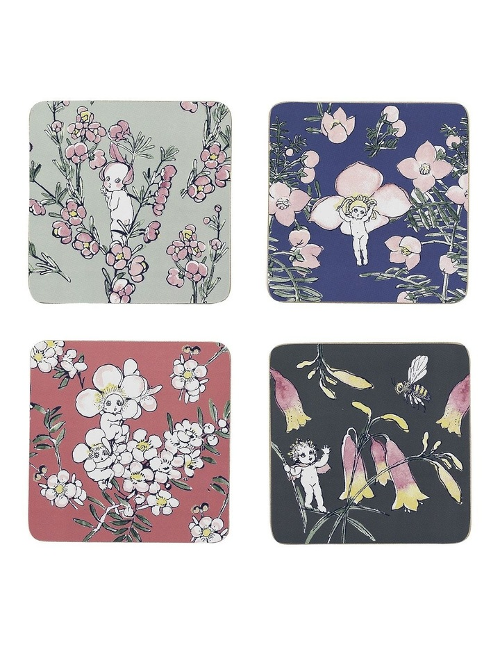 May Gibbs Flower Babies Coasters Set Of 4 image 1