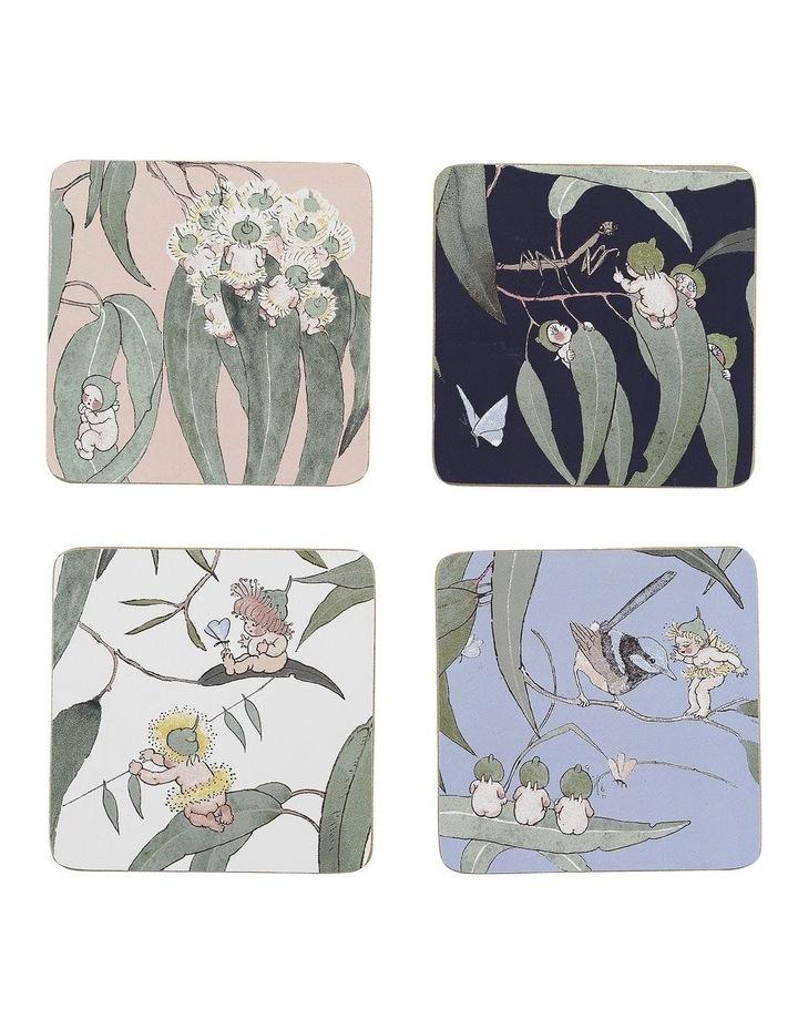May Gibbs Gumnut Babies Coasters Set Of 4 image 1