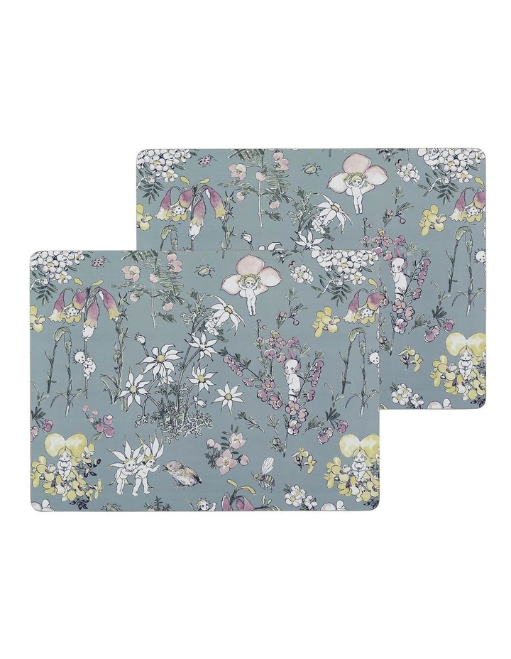 May Gibbs Flower Babies Large Placemats Set of 2 image 1
