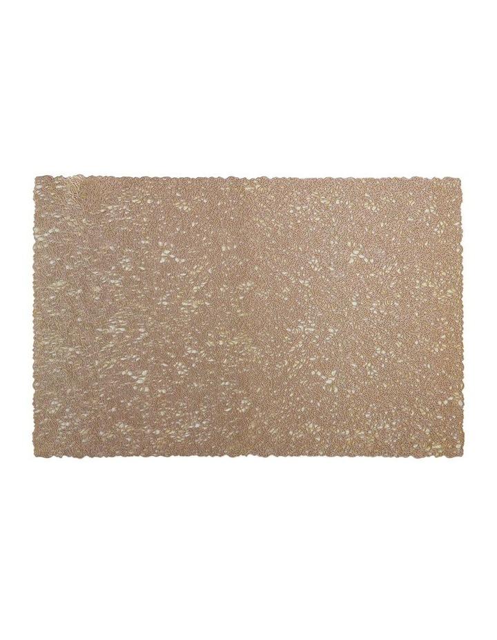 Glitz PVC Placemat 45x30cm Gold image 1