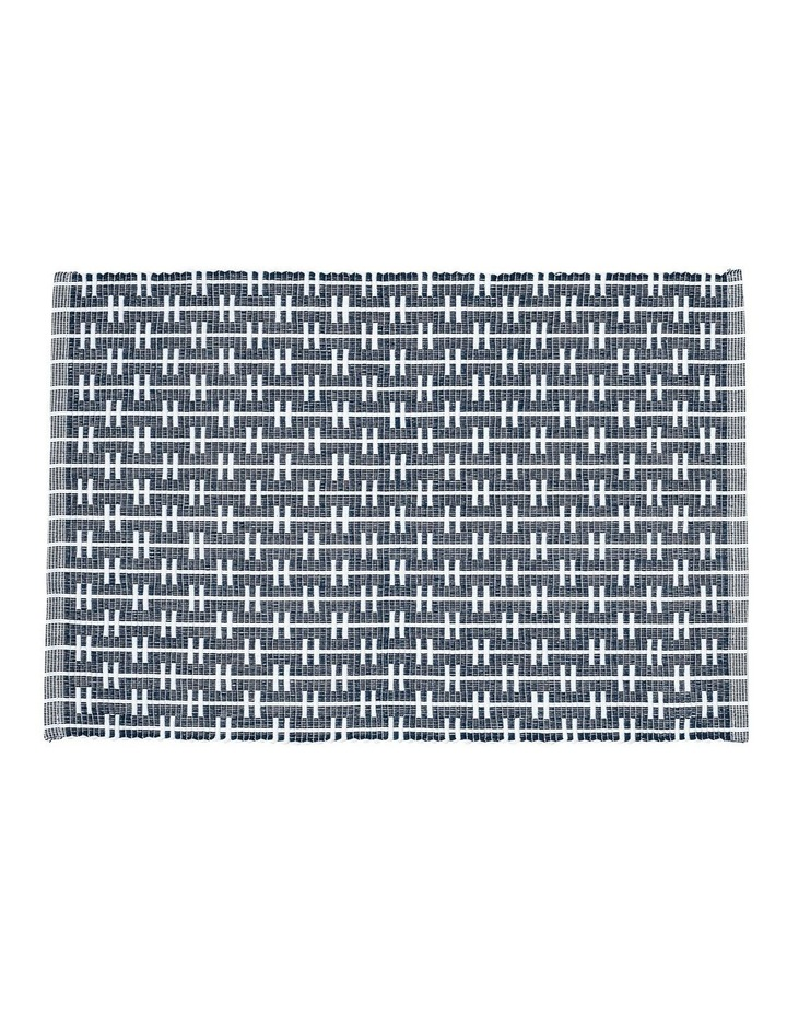 Eco Eden Ribbed Placemat Navy image 1