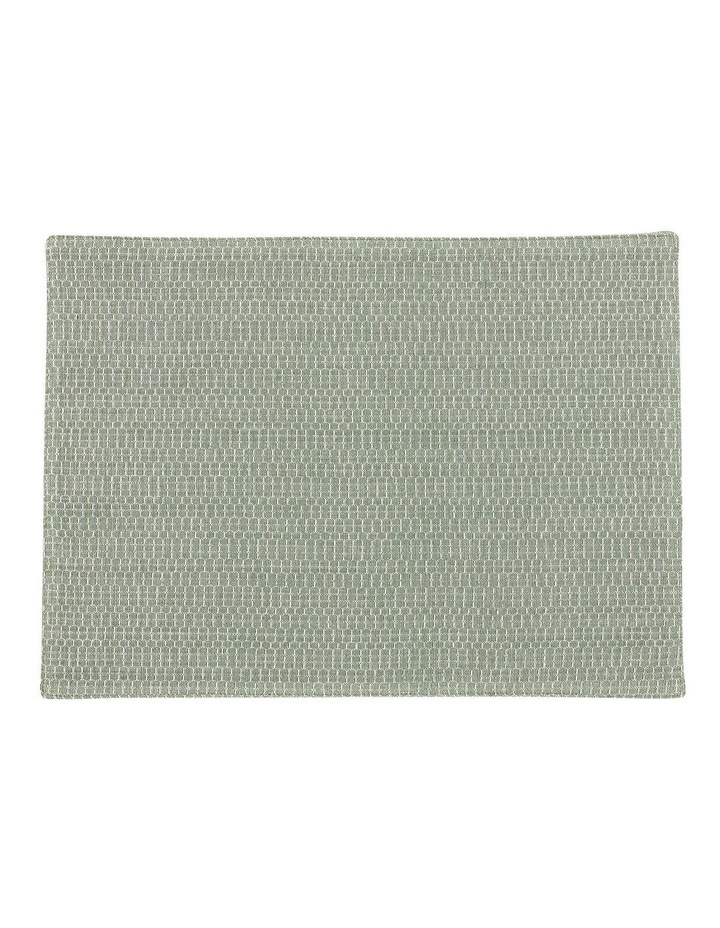 Eco Eden Ribbed Placemat Sage image 1