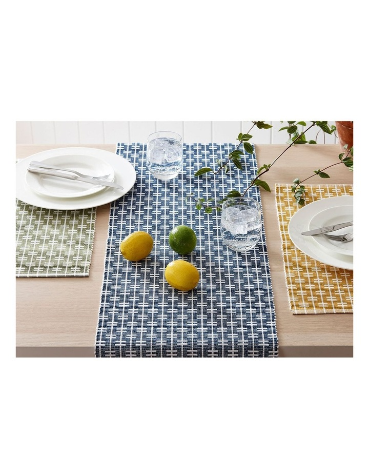 Eco Eden Ribbed Placemat Sage image 2