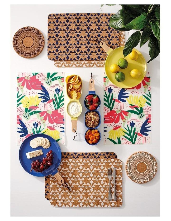 Arise Flora Printed Vinyl 4pk Placemat image 2