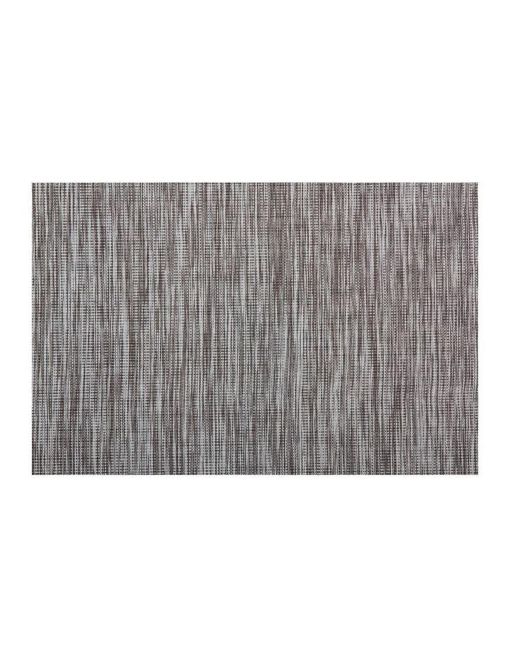 Placemat Lurex 45x30cm Grey Stripe image 1