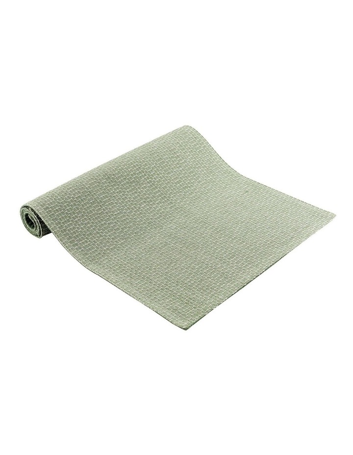 Eco Eden Ribbed Runner Sage image 1