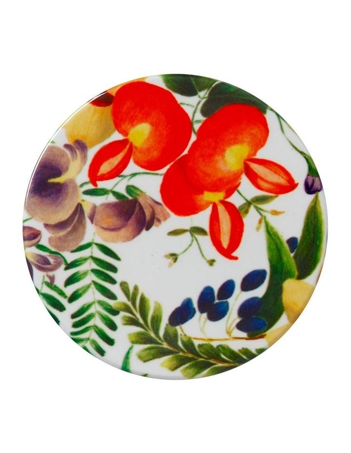 Royal Botanic Garden Euphemia Henderson Ceramic Round Coaster 9.5cm Native Fuchsia image 1