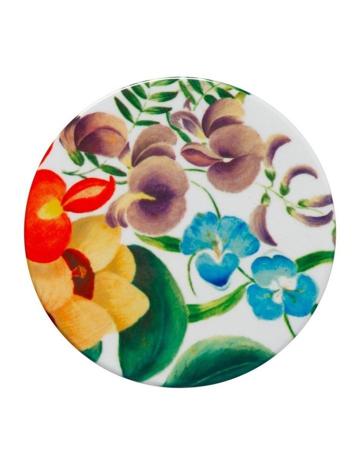 Royal Botanic Garden Euphemia Henderson Ceramic Round Coaster 9.5cm Native Iris image 1