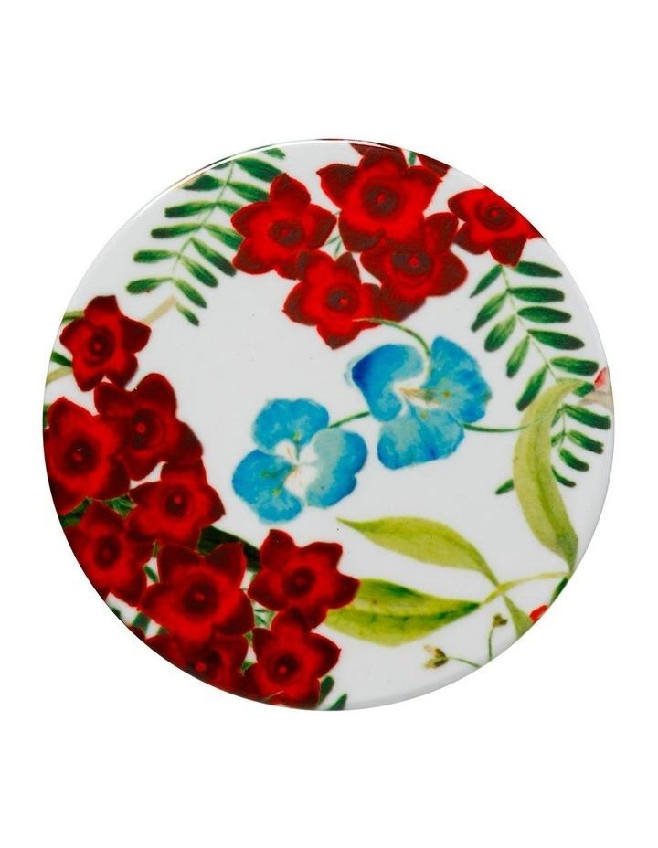 Royal Botanic Garden Euphemia Henderson Ceramic Round Coaster 9.5cm Waratah image 1