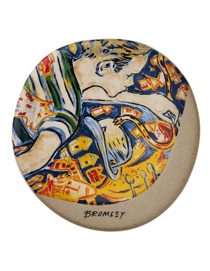 Bromley Round Coaster - Painting Boy image 1