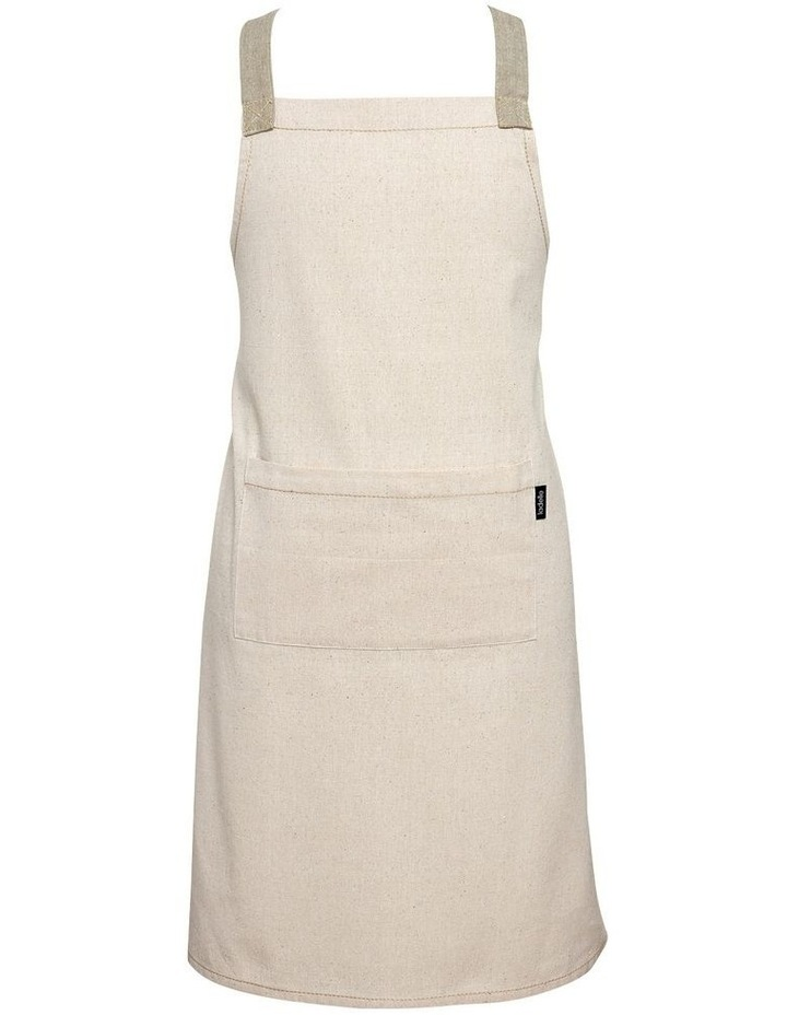 Eco Recycled Apron Natural image 1