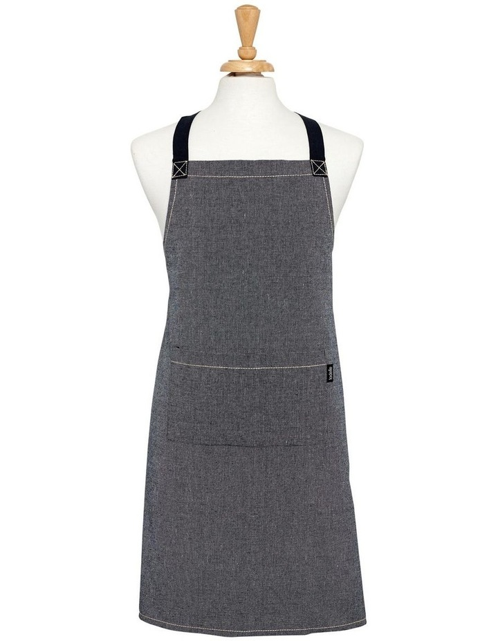 Eco Recycled Apron in Navy image 1