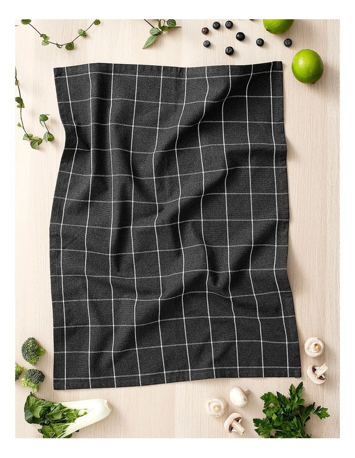 Recycled Cotton Kitchen Accessory Set Charcoal image 2