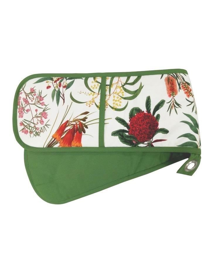 Royal Botanic Garden Double Oven Glove Green image 1