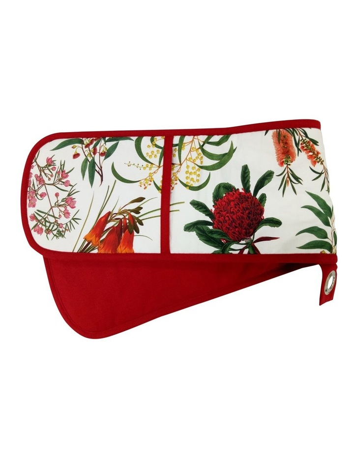 Royal Botanic Garden Double Oven Glove Red image 1
