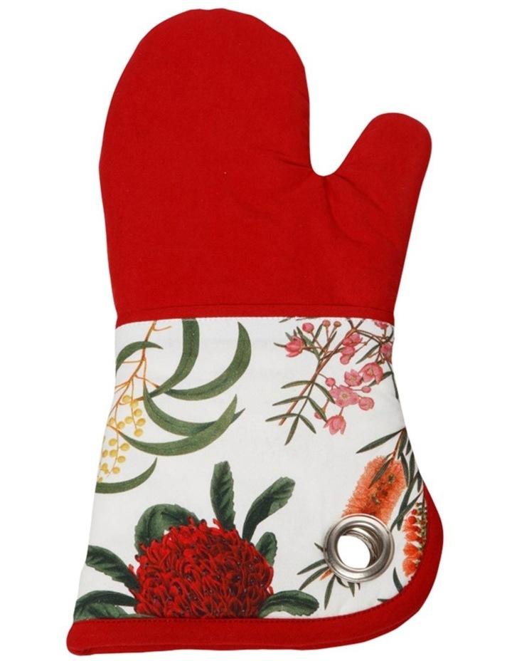 Royal Botanic Garden Oven Glove Red image 1