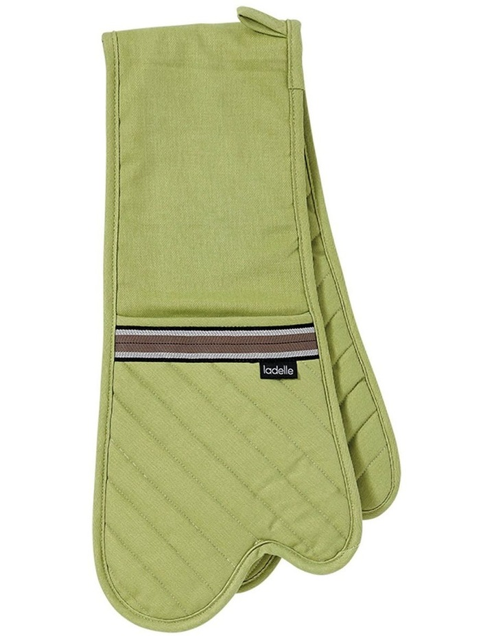 Professional Series II Sage Double Oven Mitt image 1