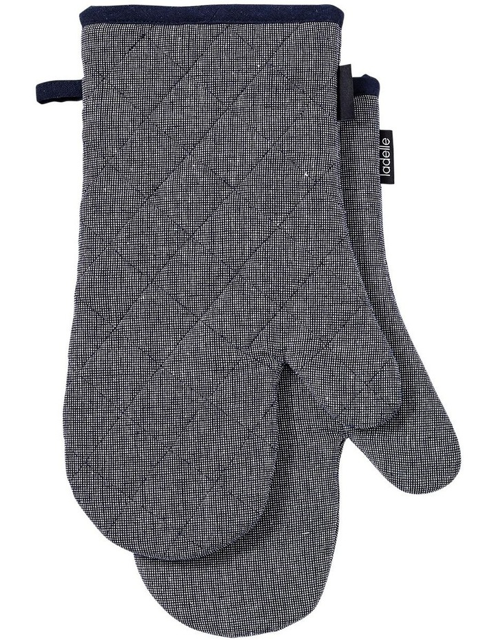 Eco Recycled 2pk Oven Mitt Navy image 1