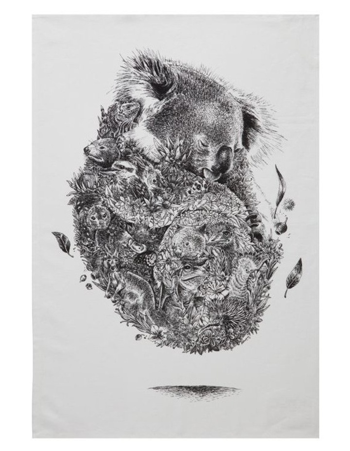 Marini Ferlazzo Tea Towel 50x70cm Koala image 1
